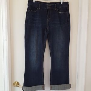 Levi's Slender Boot Cut 526TM Jeans Dark Rinse